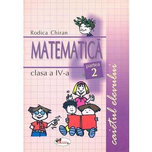 Matematica clasa a IV-a. Caietul elevului partea a II-a imagine