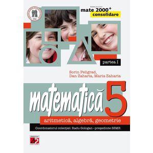 Matematica. Aritmetica. Algebra. Geometrie. Clasa a V-a. Partea I imagine