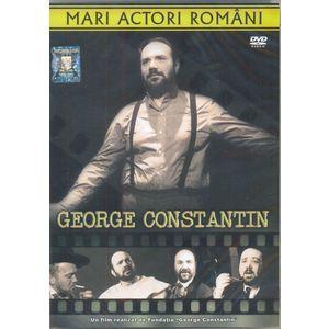 Mari actori romani. George Constantin DVD imagine