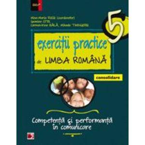 Exercitii practice de limba romana - consolidare. Competenta si performanta in comunicare. Clasa a v-a imagine