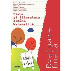 Evaluare finala 2015 clasa a IV-a. Limba romana si matematica Gavrila imagine