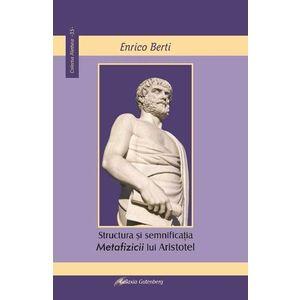 Structura si semnificatia Metafizicii lui Aristotel imagine