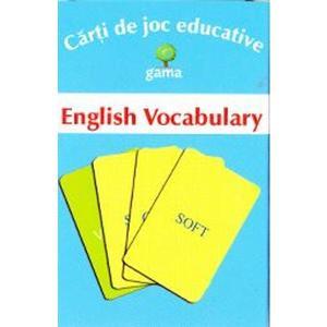 Carti de joc educative - English Vocabulary imagine