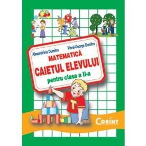 Matematica. Caietul elevului pentru clasa a II-a imagine