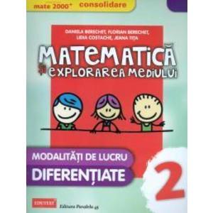 Matematica si explorarea mediului, clasa a II-a - Modalitati de lucru diferentiate imagine