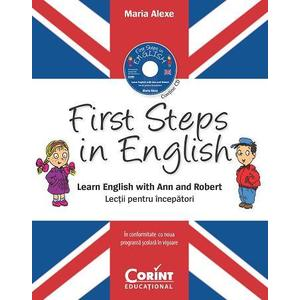 First Steps in English imagine