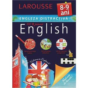 Larousse. Engleza distractiva 8-9 ani imagine
