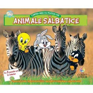 Animale salbatice. Cartea mea cu puzzle-uri (Baby Looney Tunes) imagine