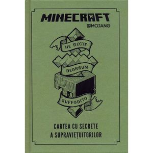 Minecraft - Cartea cu secrete a supravietuitorilor imagine