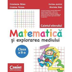 Matematica si explorarea mediului. Caietul elevului pentru clasa a II-a imagine