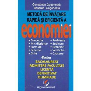 Metoda de invatare rapida si eficienta a economiei imagine