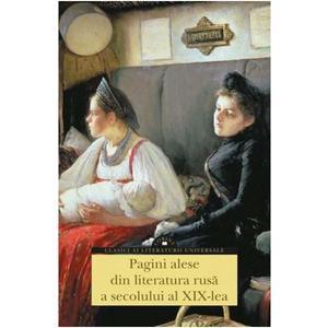 Pagini alese din literatura rusa a secolului al XIX lea imagine