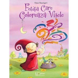 Fetita care coloreaza visele imagine