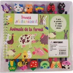 Invata sa desenezi animalele de la ferma imagine