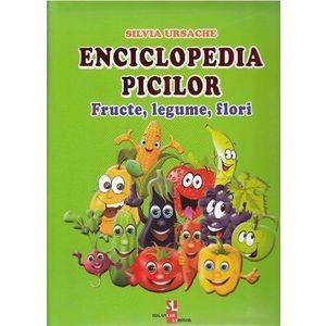 Enciclopedia picilor: Fructe, legume, flori imagine