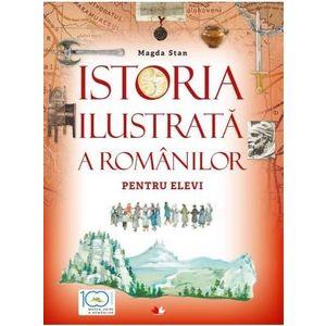 Istoria ilustrata a romanilor pentru elevi imagine