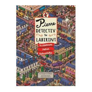 Pierre, detectiv in labirint. In cautarea pietrei labirintului imagine