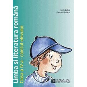 Limba şi literatura română. Caietul elevului de clasa a IV-a imagine