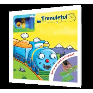 Trenulețul Carte cu șină și trenuleț imagine
