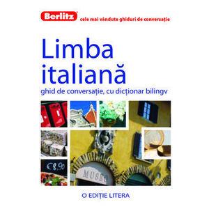 Limba italiana. Ghid de conversatie, cu dictionar bilingv imagine