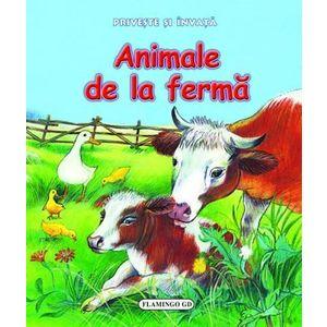 Privește și învață - Animale de la fermă imagine