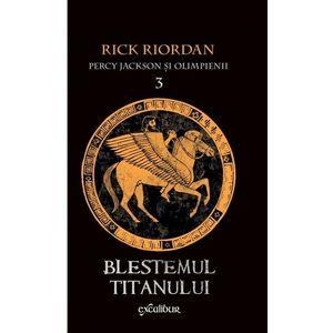 Blestemul Titanului (Percy Jackson și Olimpienii, vol. 3) imagine