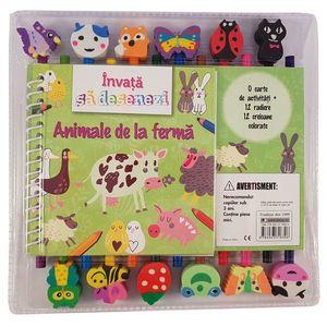 Invata sa desenezi animalele de la ferma | imagine