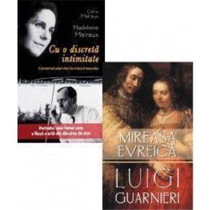 Pachet Cu o discreta intimitate Celine Malraux + Mireasa evreica Luigi Guarnieri imagine