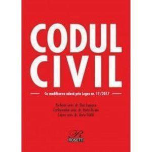 Codul civil Ed. 2017 - Dan Lupascu imagine