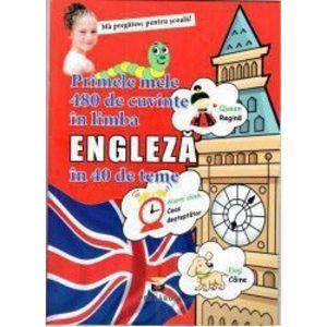Primele mele 480 de cuvinte in limba engleza in 40 de teme imagine