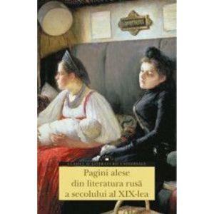 Pagini alese din literatura rusa a secolului al XIX-lea imagine