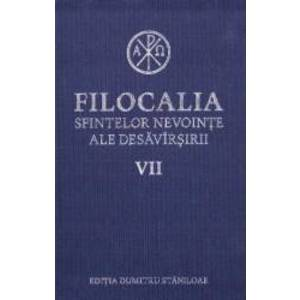 Filocalia 7 Sfintelor nevointe ale desavarsirii ed.2017 imagine
