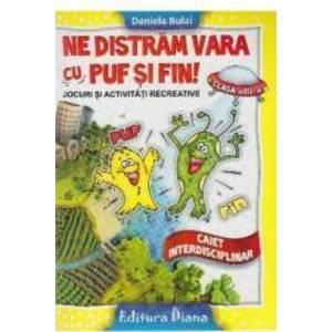 Ne distram vara cu Puf si Fin - Clasa a 3-a - Daniela Bulai imagine