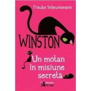 Winston un motan in misiune secreta - Frauke Scheunemann imagine