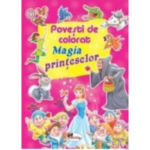 Magia printeselor - Povesti de colorat imagine