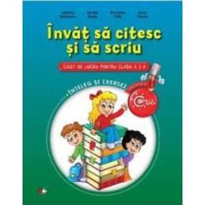 Invat Sa Citesc Si Sa Scriu Cls 1 Caiet - Gabriela Barbulescu imagine