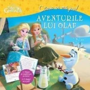 Aventurile lui Olaf - Regatul de gheata - Citesc si ma joc imagine