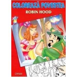 Coloreaza povestea Robin Hood imagine
