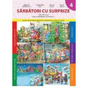 Sarbatori cu surprize caiet de lucru clasa pregatitoare semestrul 1 - Gabriela Barbulescu imagine