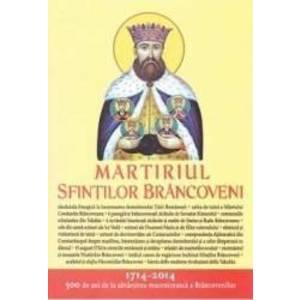 Martiriul Sfintilor Brancoveni format mare cartonat imagine