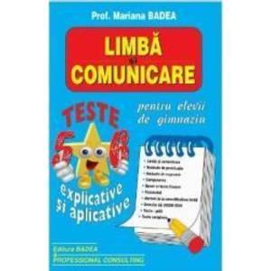 Limba si comunicare. Teste clasa 5-6 explicate si aplicative - Mariana Badea imagine