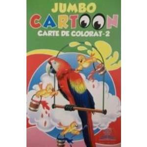 Jumbo Cartoon 2 - Carte de colorat imagine
