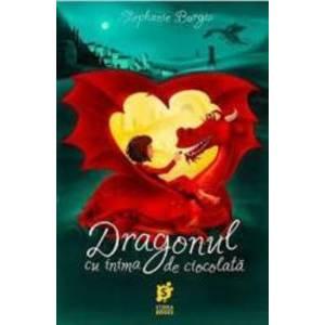 Dragonul cu inima de ciocolata - Stephanie Burgis imagine