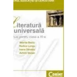 Manual literatura universala clasa 11 - Miorita Baciu Rodica Lungu Ioana Danetiu Achim Stoian imagine