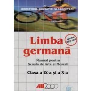 Germana Cls 9 Si 10 - Scoala De Arte Si Meserii imagine