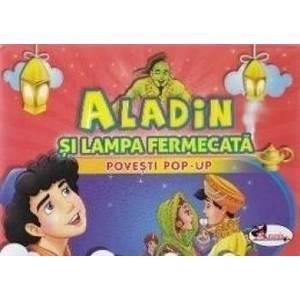 Aladin si lampa fermecata - Povesti Pop-up imagine