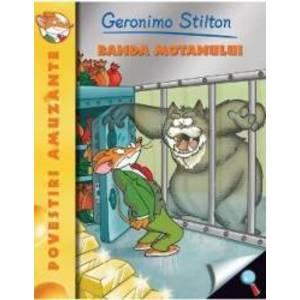 Banda motanului - Geronimo Stilton imagine