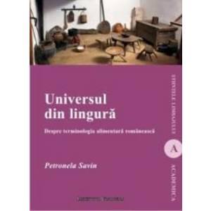 Universul Din Lingura - Petronela Savin imagine