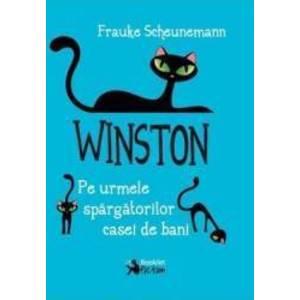 Winston. Pe urmele spargatorilor casei de bani - Frauke Scheunemann imagine