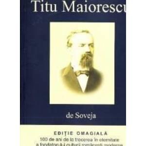 Titu Maiorescu de Soveja imagine